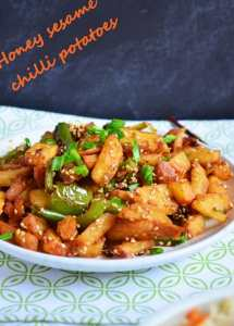 Honey chilli potato recipe | Easy indo chinese recipes