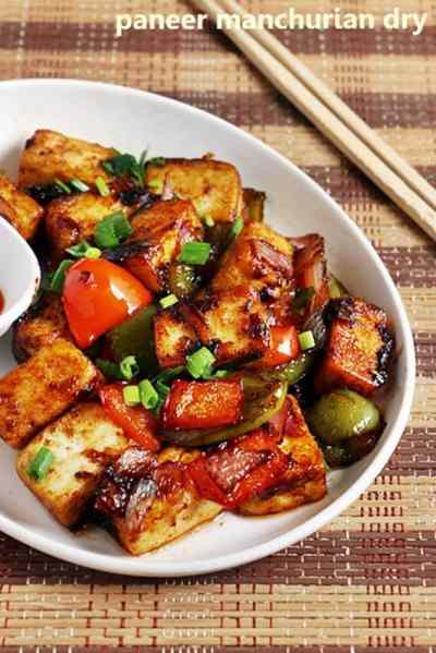 Paneer manchurian recipe| Easy paneer recipes | Indo chinese recipes