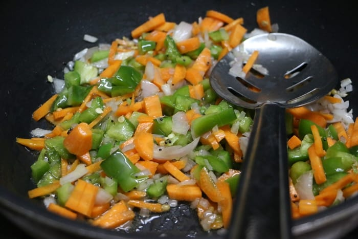 cilantro rice step 5