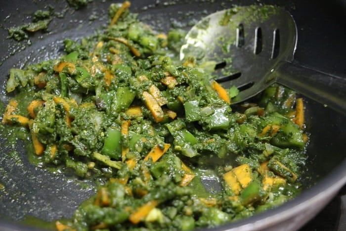cilantro rice step 8