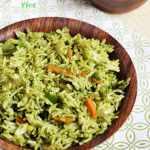 coriander rice recipe