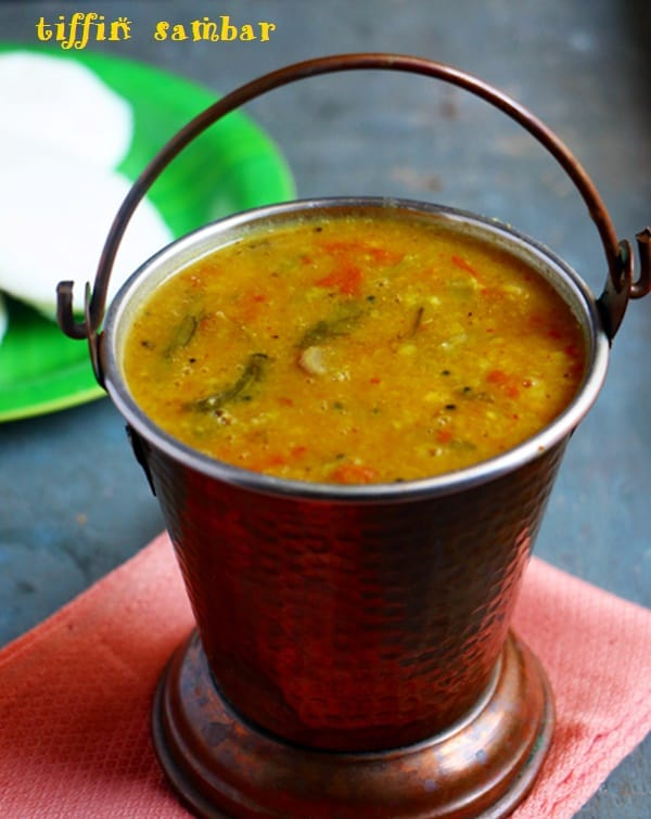 Tiffin sambar recipe, idli sambar recipe