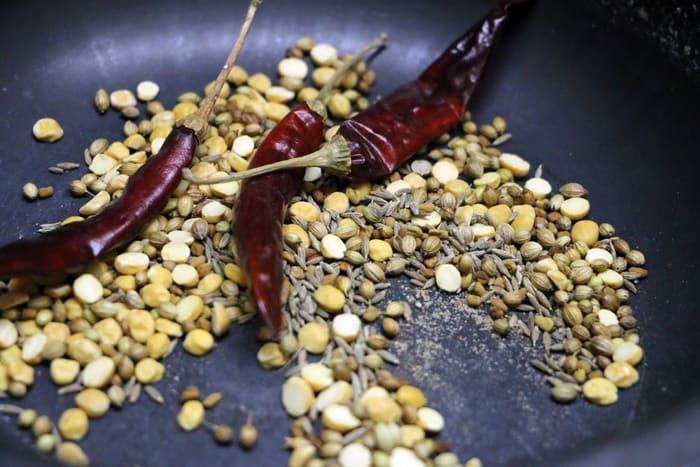 tiffin sambar step 3