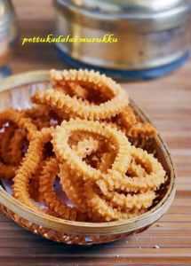 Pottukadalai murukku recipe | Easy snack recipes