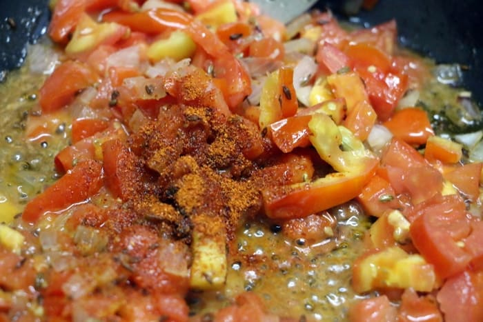 tomato curry step 3