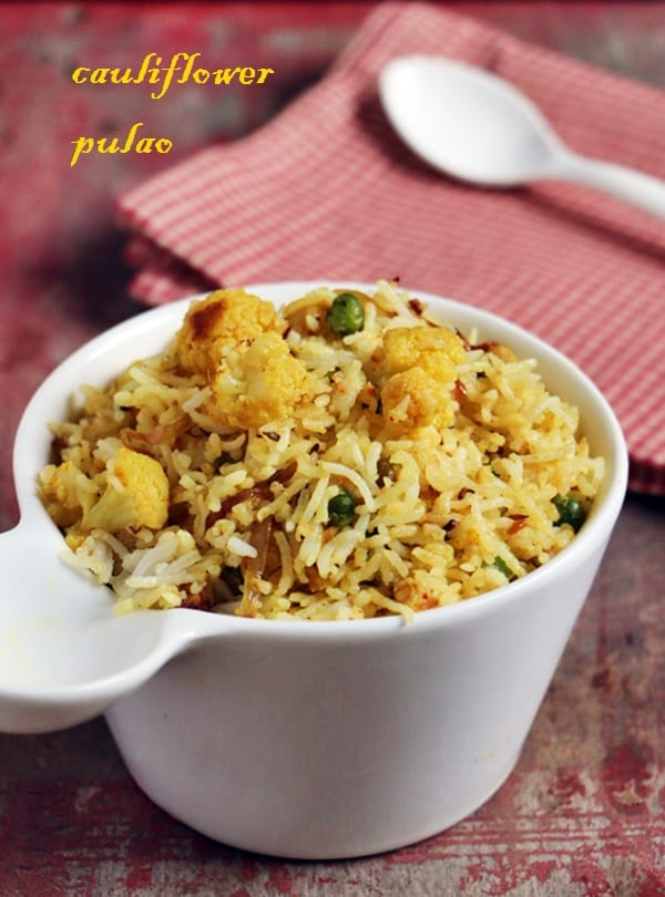 caulflower rice recipe