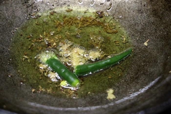 caulflower pulao step 3