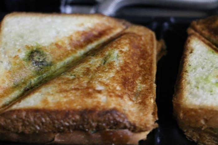 masala toast recipe step 7