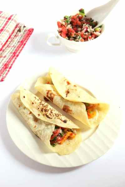 Fajita recipe | Easy vegetable fajita recipe