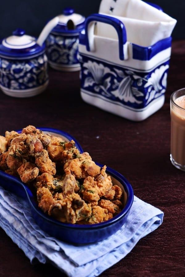 cashew pakoda recipe