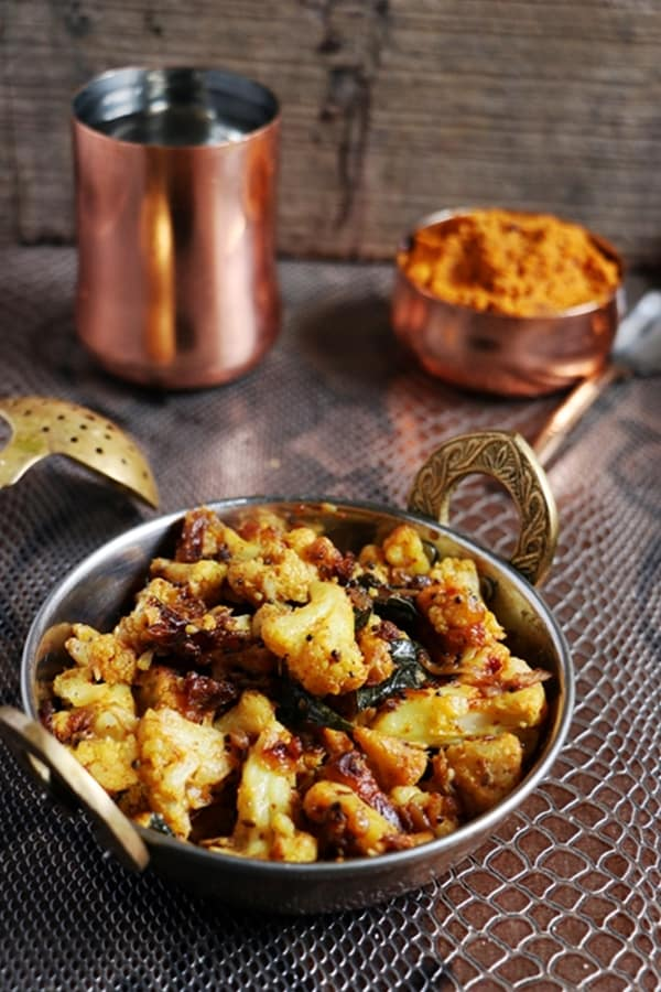 cauliflower curry recipe d