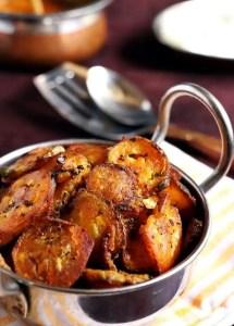 Raw banana fry recipe | Vazhakkai fry recipe