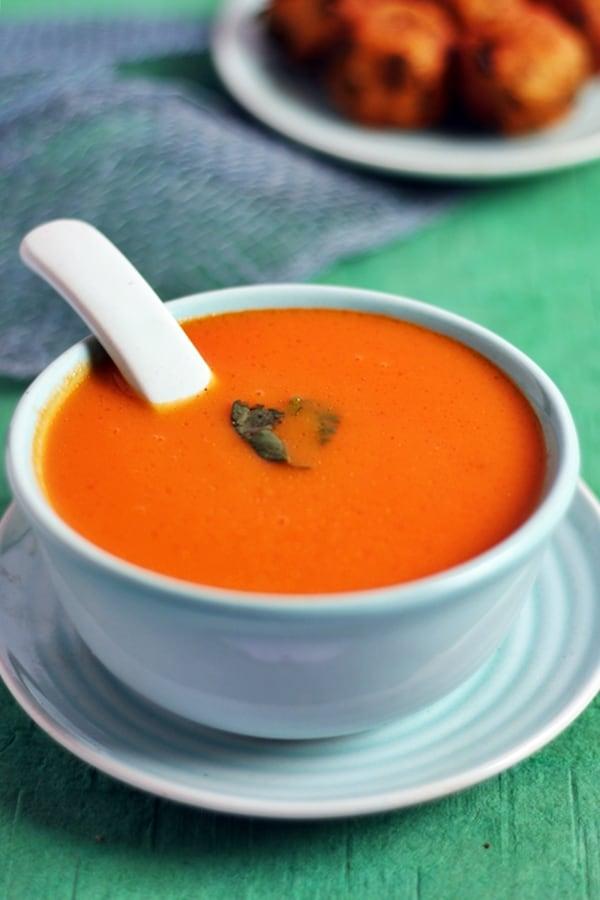 carrot tomato soup recipe a