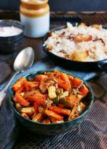 Veg curry recipe with mixed vegetables