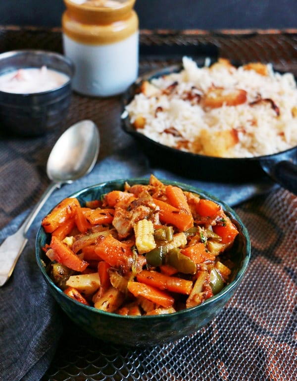 veg curry recipe