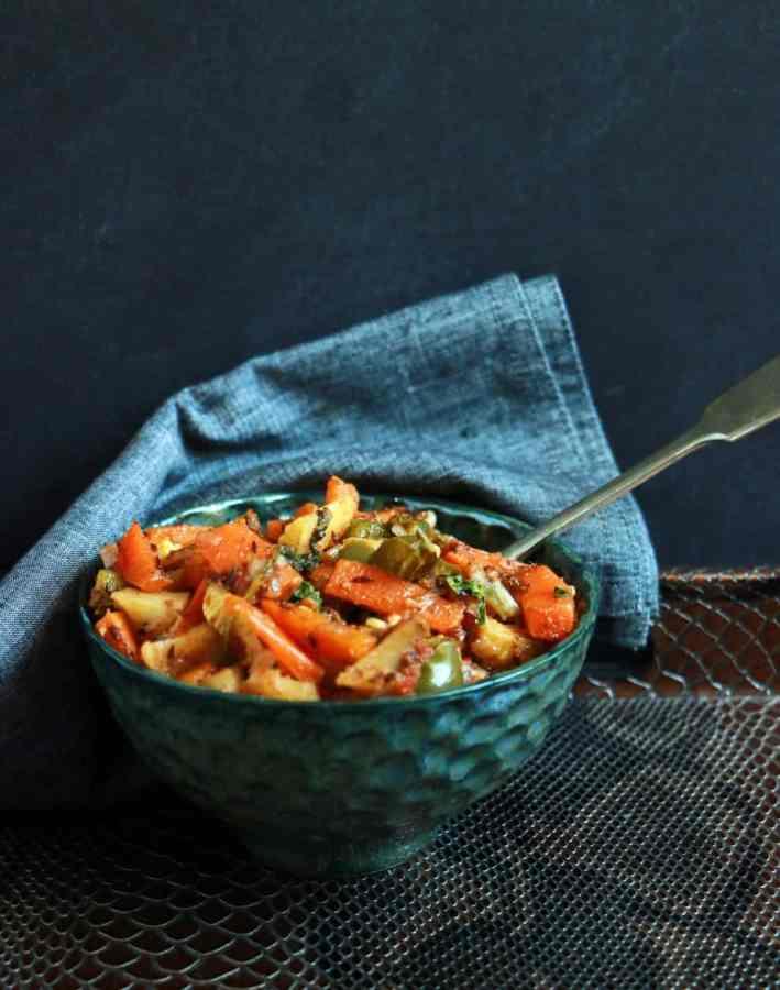 mixed veg curry recipe c