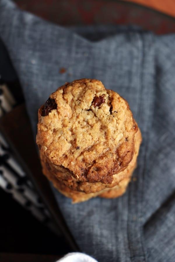 oats raisin cookies recipe b