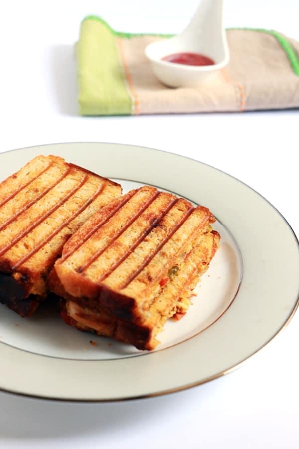 paneer sandwich recipe b