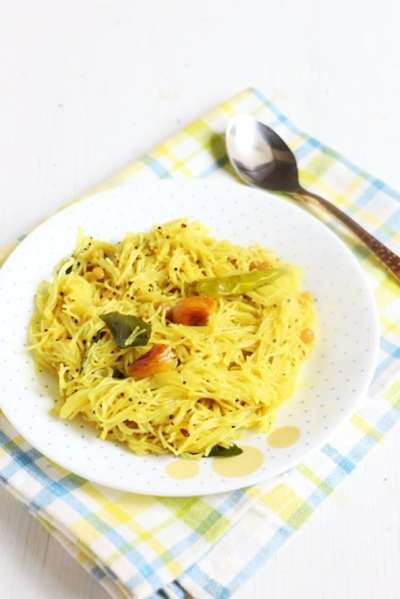 Lemon semiya recipe | Easy breakfast recipes