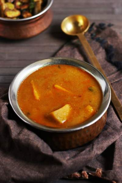 Pumpkin sambar recipe | Easy lunch recipes