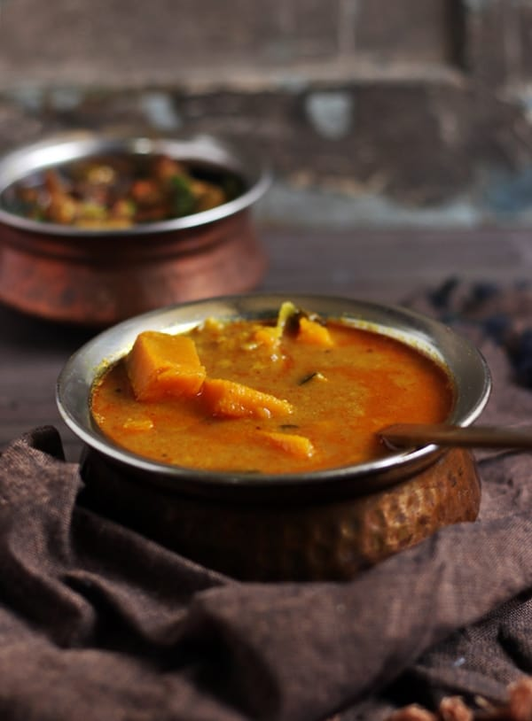 pumpkin sambar recipe c
