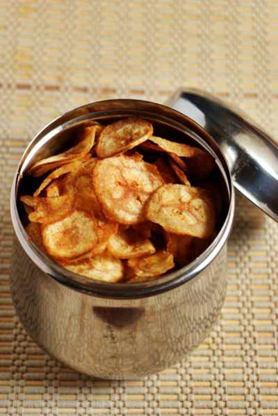 Banana chips recipe | Plantain chips recipe