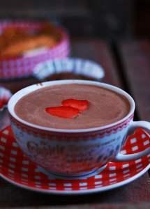 Strawberry hot chocolate recipe