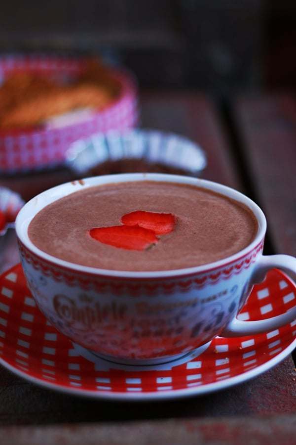 strawberry hot chocolate recipe a