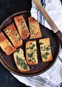 Garlic toast recipe, how to make garlic toast recipe