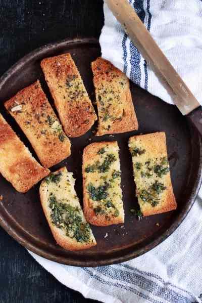Garlic toast recipe, how to make garlic toast recipe