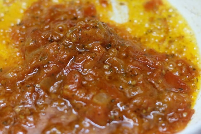 pasta with marinara sauce step 2