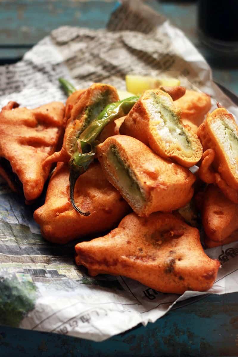 bread pakora recipe with pota stuffing d ps