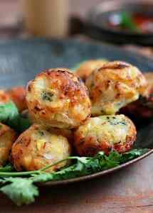 corn fritters recipe | No deep fry sweet corn fritters recipe
