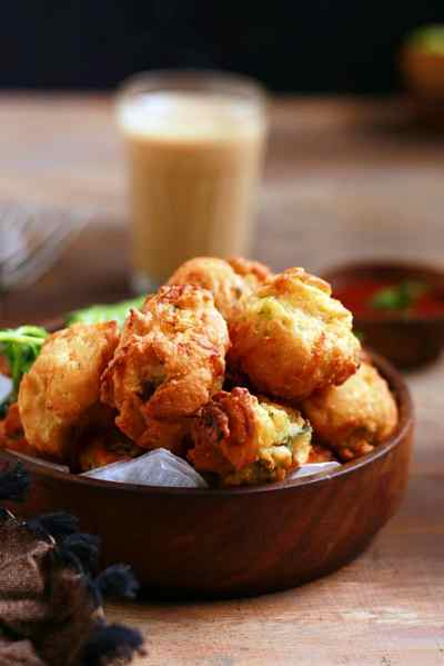 veg fritters recipe | Indian style veg fritters recipe