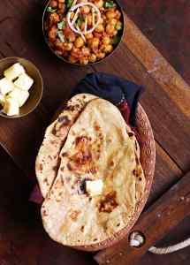 Tandoori roti recipe   Stove top tandoori roti recipe