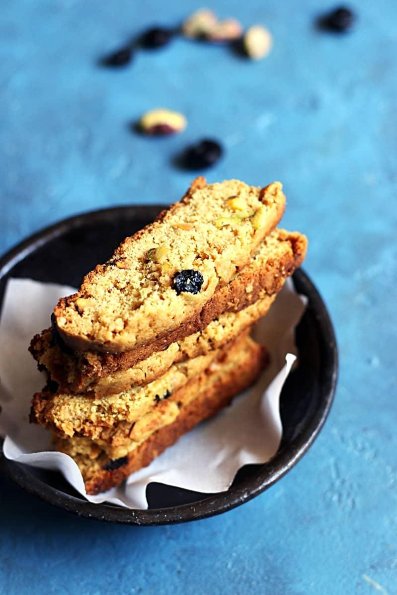 cranberry pistachi biscotti recipe b