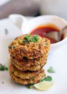 Carrot falafel recipe baked version