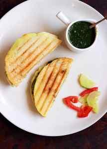 Dosa sandwich recipe | How to make grilled dosa sandwich recipe