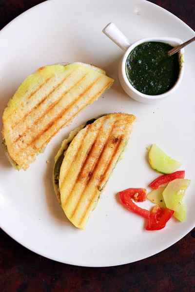 Dosa sandwich recipe | How to make grilled dosa sandwich recipe