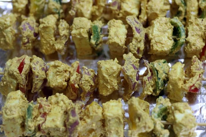paneer tikka recipe step5