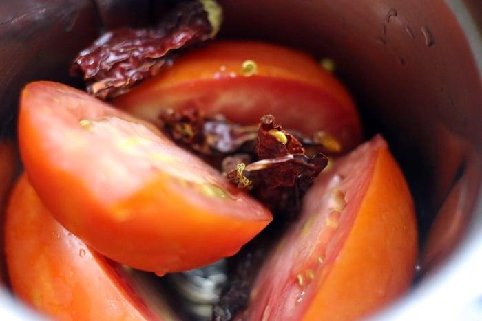 chili tomato dip recipe step 1