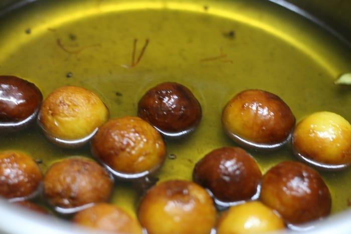 gulab jamun recipe step 9