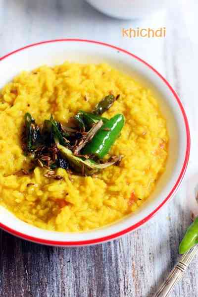 Khichdi recipe, how to make moong dal khichdi recipe | Dal khichdi recipe