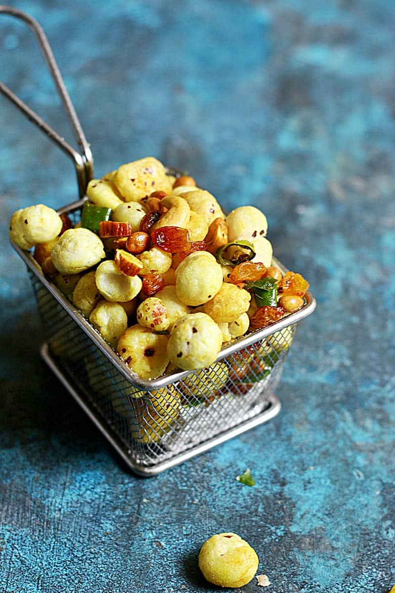 makhana chivda recipe a