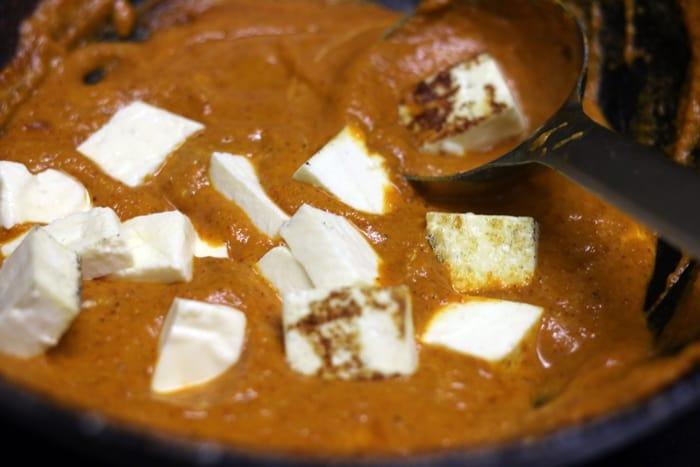 paneer butter masala recipe step 9