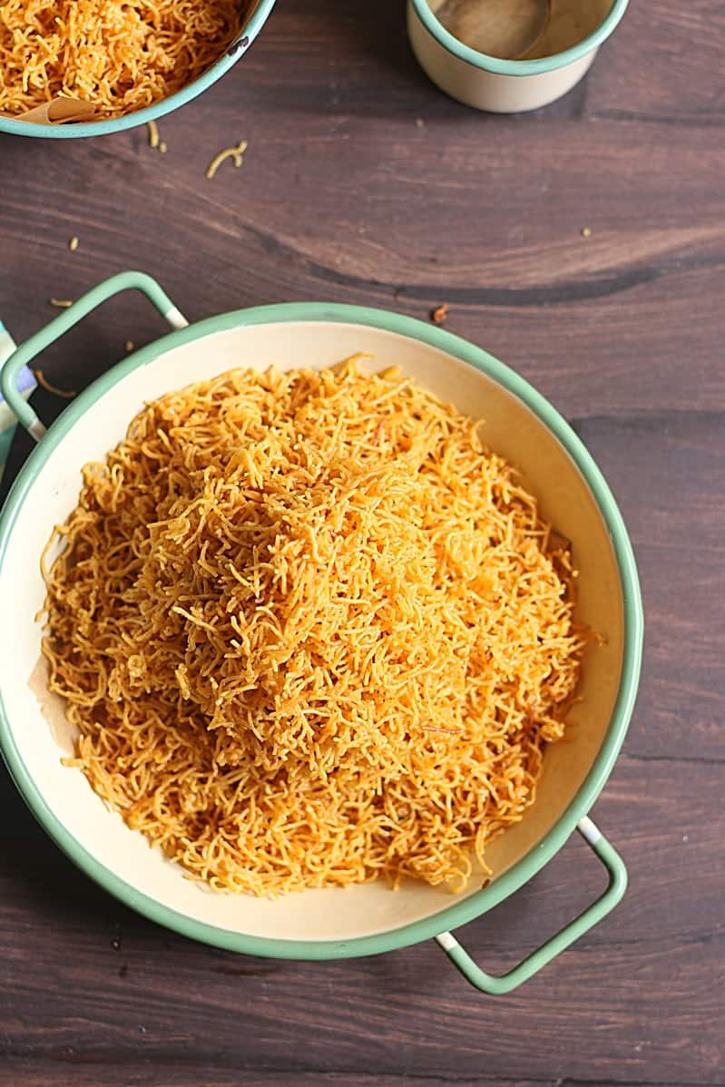 cheese sev recipe step 6