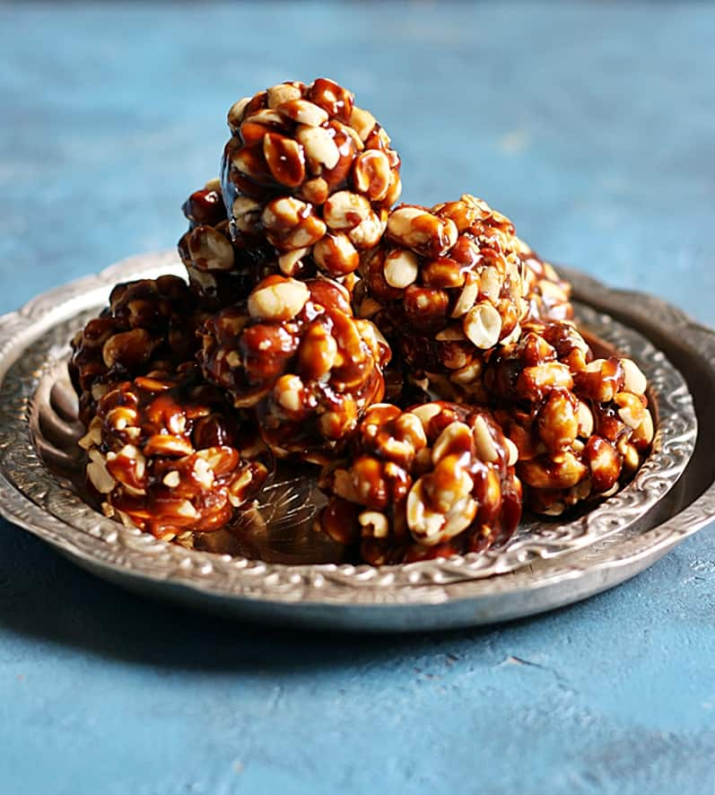 peanut chikki recipe step 1