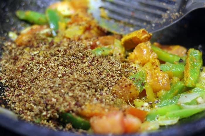 veg kholapuri recipe step 7
