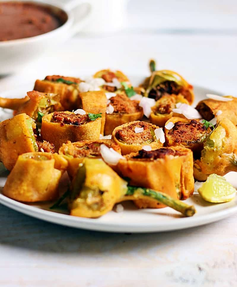 cut mirchi bajji recipe b