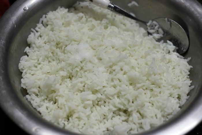 lemon rice step 2